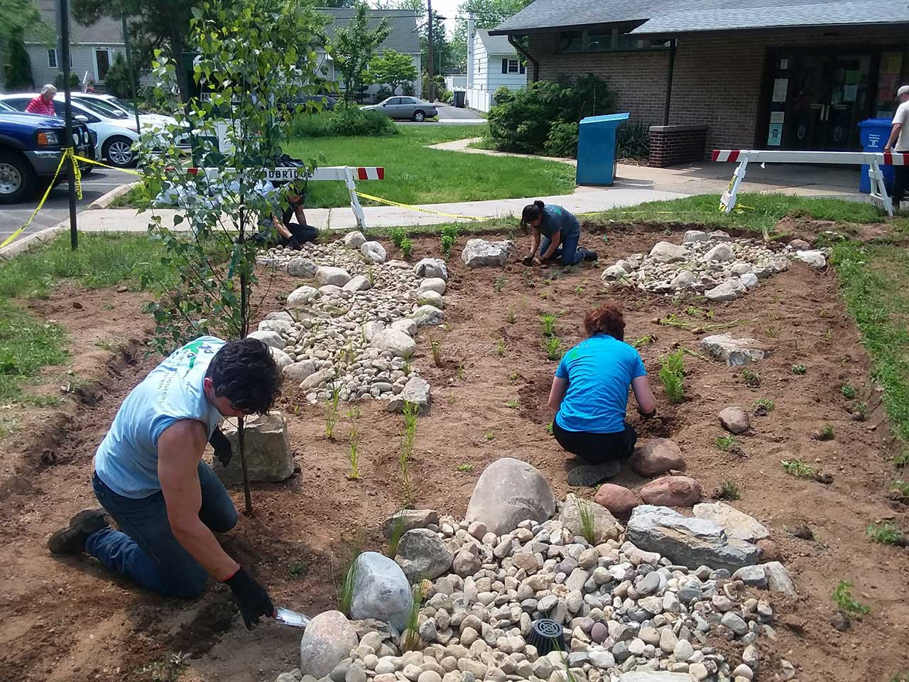 Reading Rain Gardens: A Community Environmental Initiative for Woodbridge Libraries