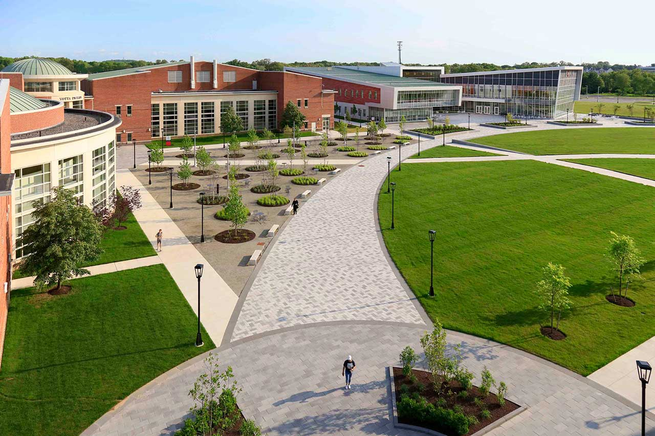 Rowan College at Burlington County Quad Transformation